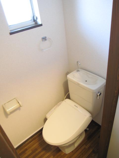 グリーンピア上野C 202号室のトイレ