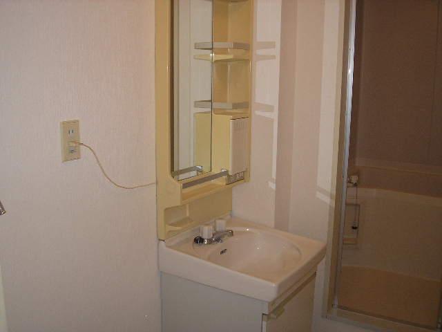 グランドハイツ光 B-101号室の洗面所