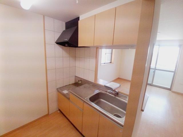 ギャレットコート 205号室のキッチン