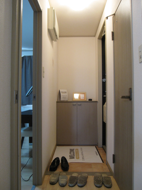 プリシェール伊奈中央 102号室の玄関