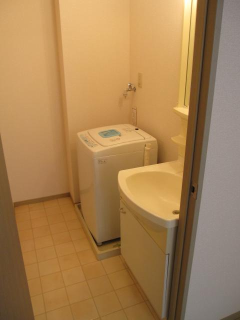 プリシェール伊奈中央 102号室の洗面所