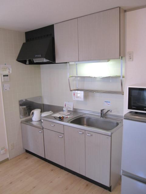 プリシェール伊奈中央 102号室のキッチン