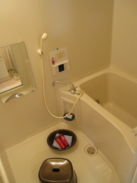 プリシェール伊奈中央 102号室の風呂