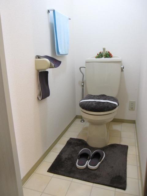 プリシェール伊奈中央 102号室のトイレ