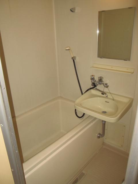 片柳ハイツ 102号室の風呂