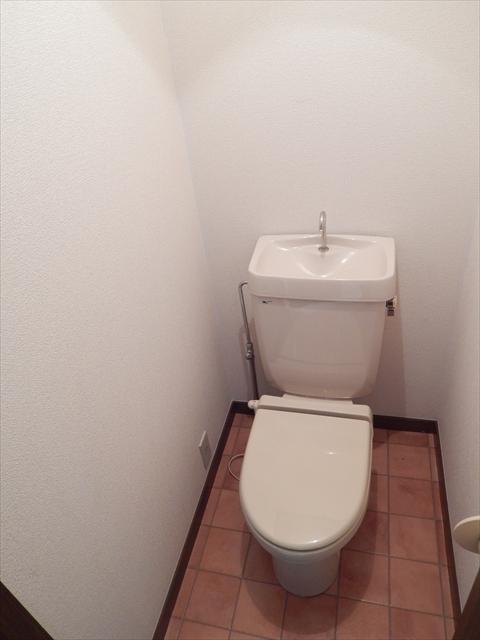 リーフビルド 303号室のトイレ