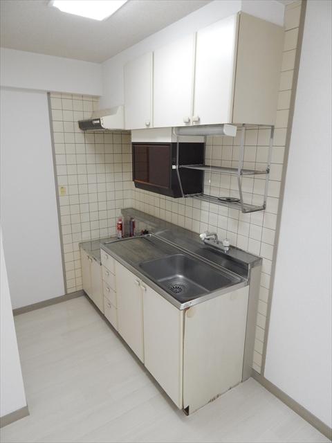 ラフォーレ21 301号室のキッチン