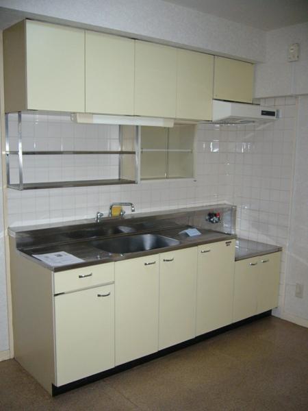 長島ビル 404号室のキッチン