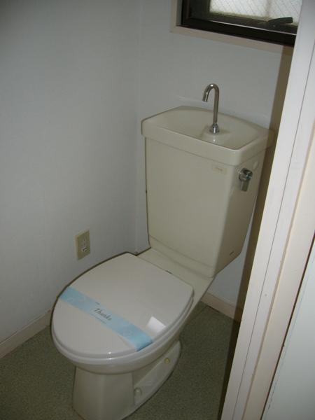 長島ビル 404号室のトイレ