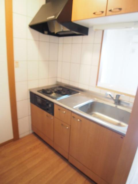 シャンドフルール 105号室のキッチン