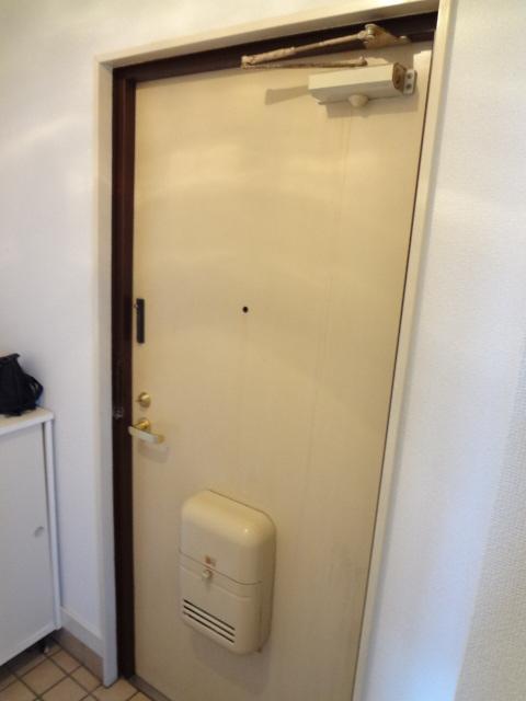 あゆ 201号室の玄関