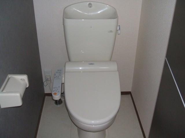 Dandelion B 201号室のトイレ