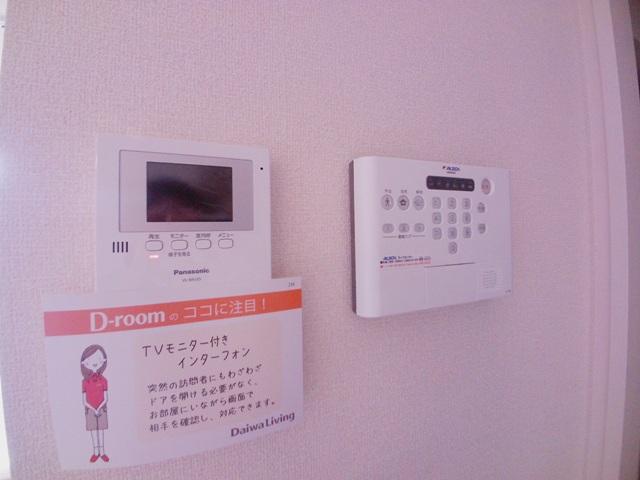 エスポワールⅡ 102号室のセキュリティ