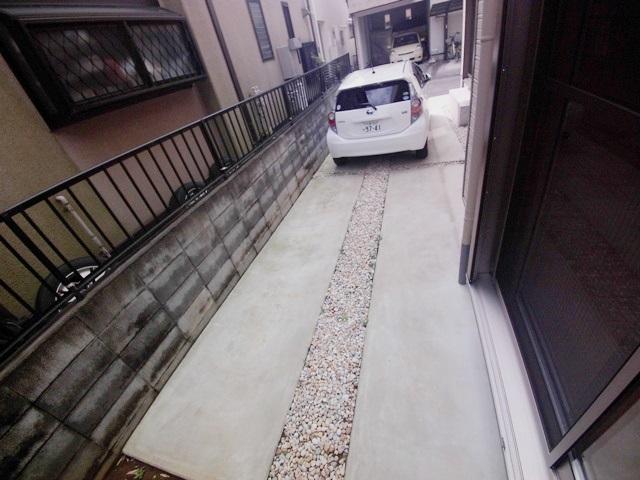 上尾二ツ宮戸建の駐車場