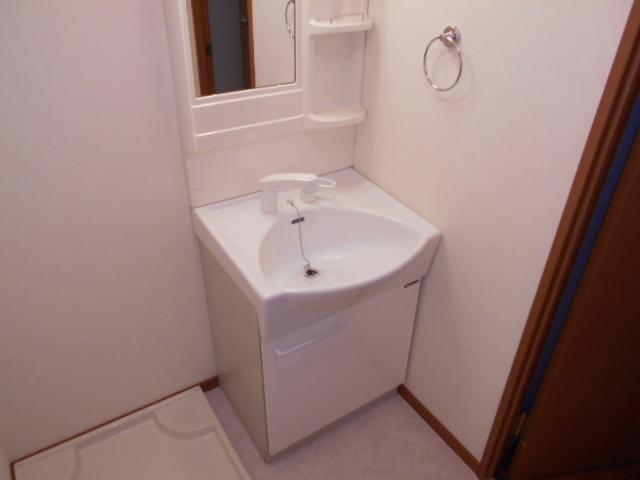 オークス中切 202号室の洗面所