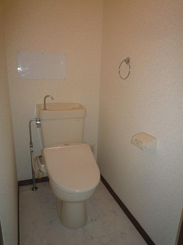コープセンタービレッジ 102号室のトイレ