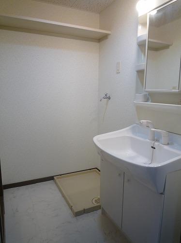 コープセンタービレッジ 102号室の洗面所