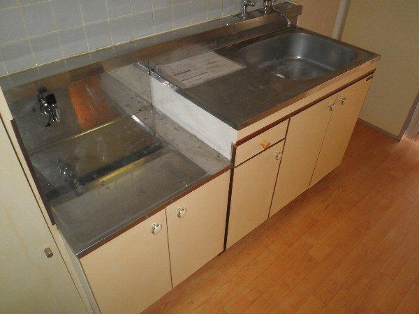中川ビル 202号室のキッチン