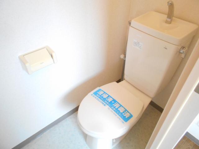ドゥエル聖蹟 405号室のトイレ