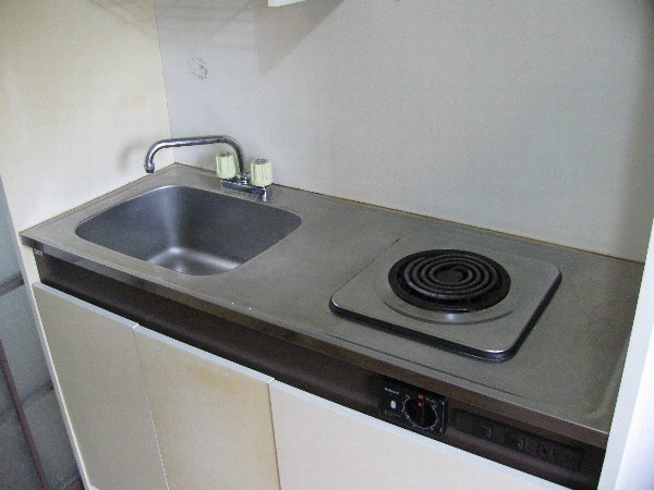 アゼリヤハイツ 101号室のキッチン