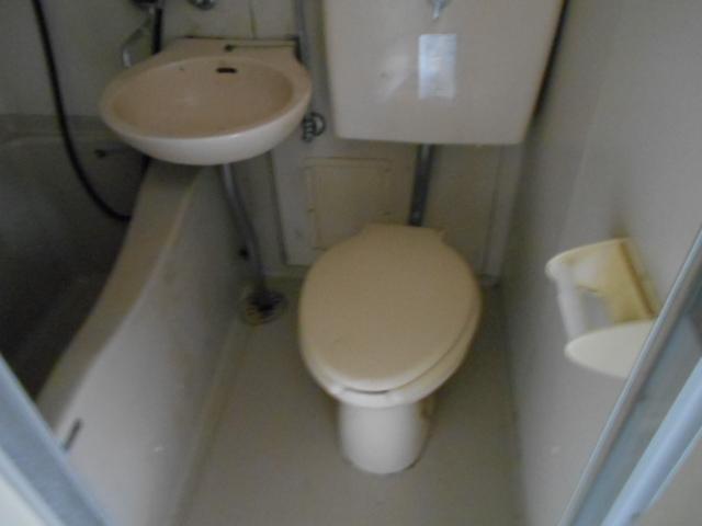 ホワイトウイング連光寺Ⅰ 203号室のトイレ