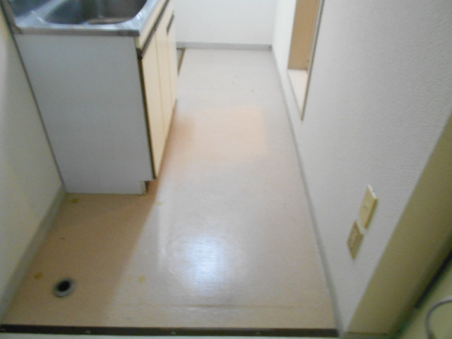 セフィール程久保 103号室のキッチン