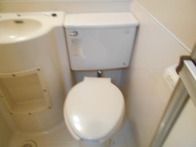 セフィール程久保 203号室のトイレ