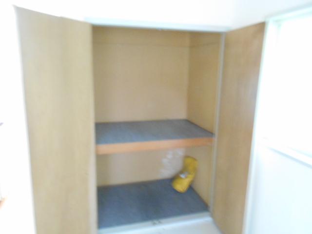 セフィール程久保 203号室の収納