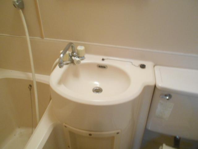 セフィール程久保 206号室の洗面所