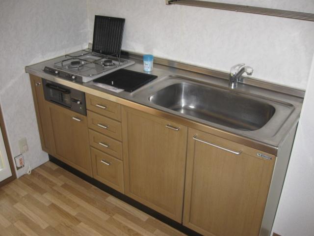 シャネルI&S 305号室のキッチン