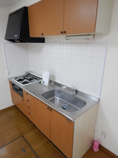 下新郷貸家2号棟のキッチン