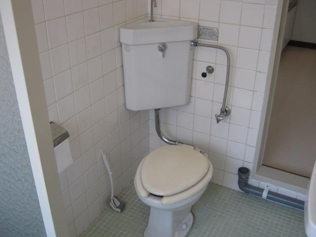 サニーハウス 202号室のトイレ