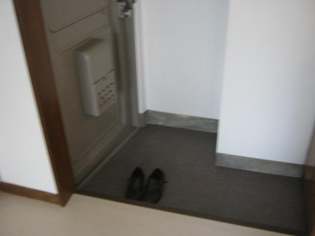 サニーハウス 202号室の玄関
