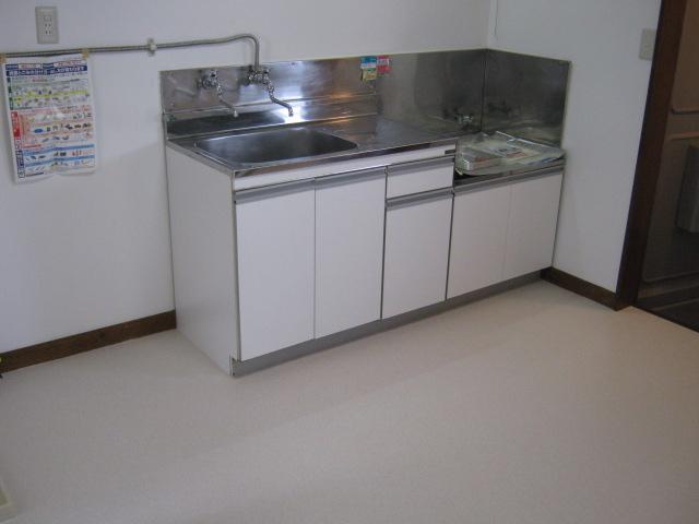 サニーハウス 202号室のキッチン