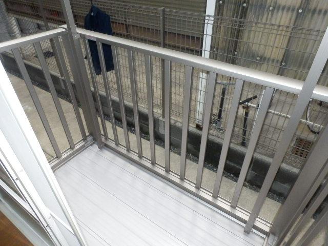 グランドハイツⅠ 105号室のバルコニー