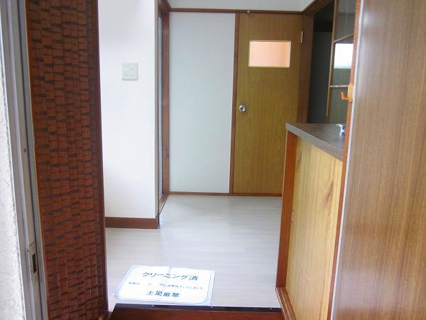 ハイツ洗足 101号室の玄関