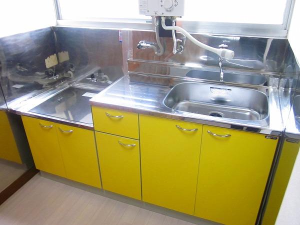 ハイツ洗足 101号室のキッチン