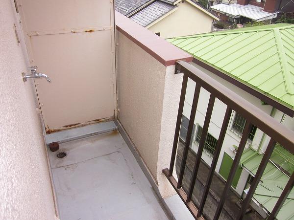 メゾン赤松 502号室のバルコニー