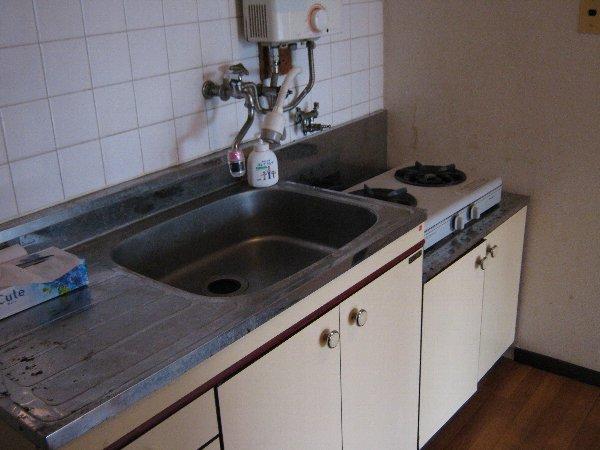桜山ハイツ 202号室のキッチン