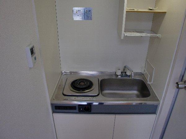 小山ビル 301号室のキッチン