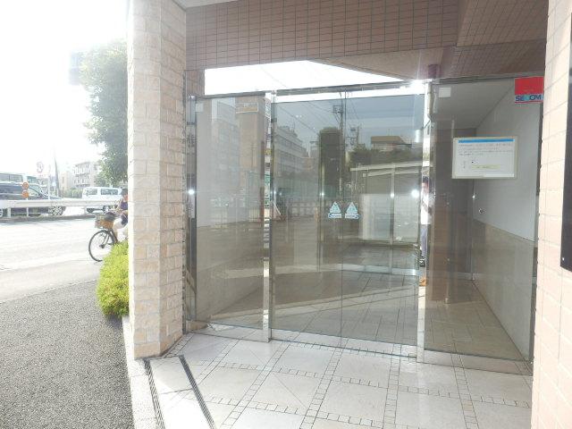 クリオ上野毛ラ・モード 605号室のエントランス
