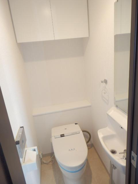 クリオ上野毛ラ・モード 605号室のトイレ