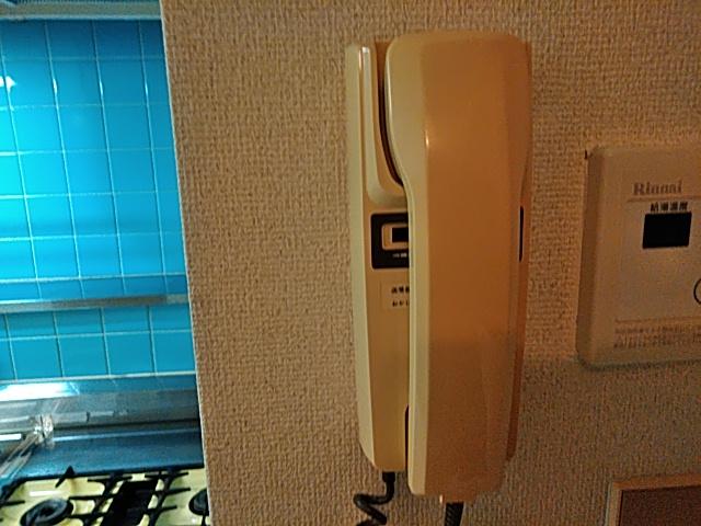 メゾンド洗足 202号室のセキュリティ
