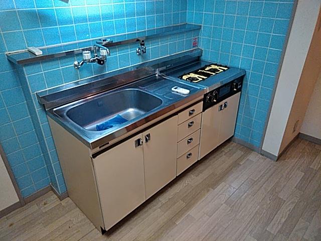 メゾンド洗足 202号室のキッチン