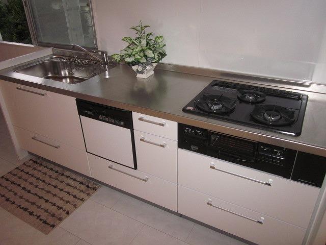 鉄飛坂マンション 201号室のキッチン