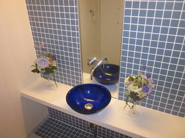 鉄飛坂マンション 201号室の洗面所