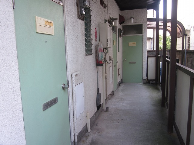 ミニメゾン 103号室のロビー