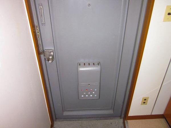 小野ハイツ 302号室の玄関