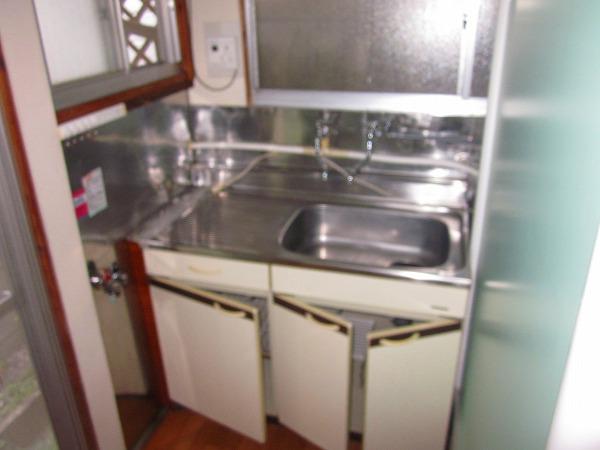 吉田コーポ 101号室のキッチン