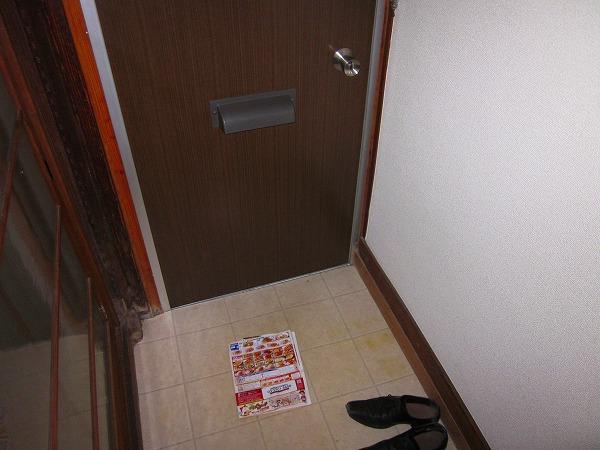 吉田コーポ 101号室の玄関